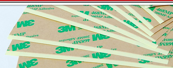 Double-sided adhesive transfer tape linered
