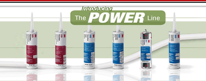 Ibrid adesive 3M series Power Line